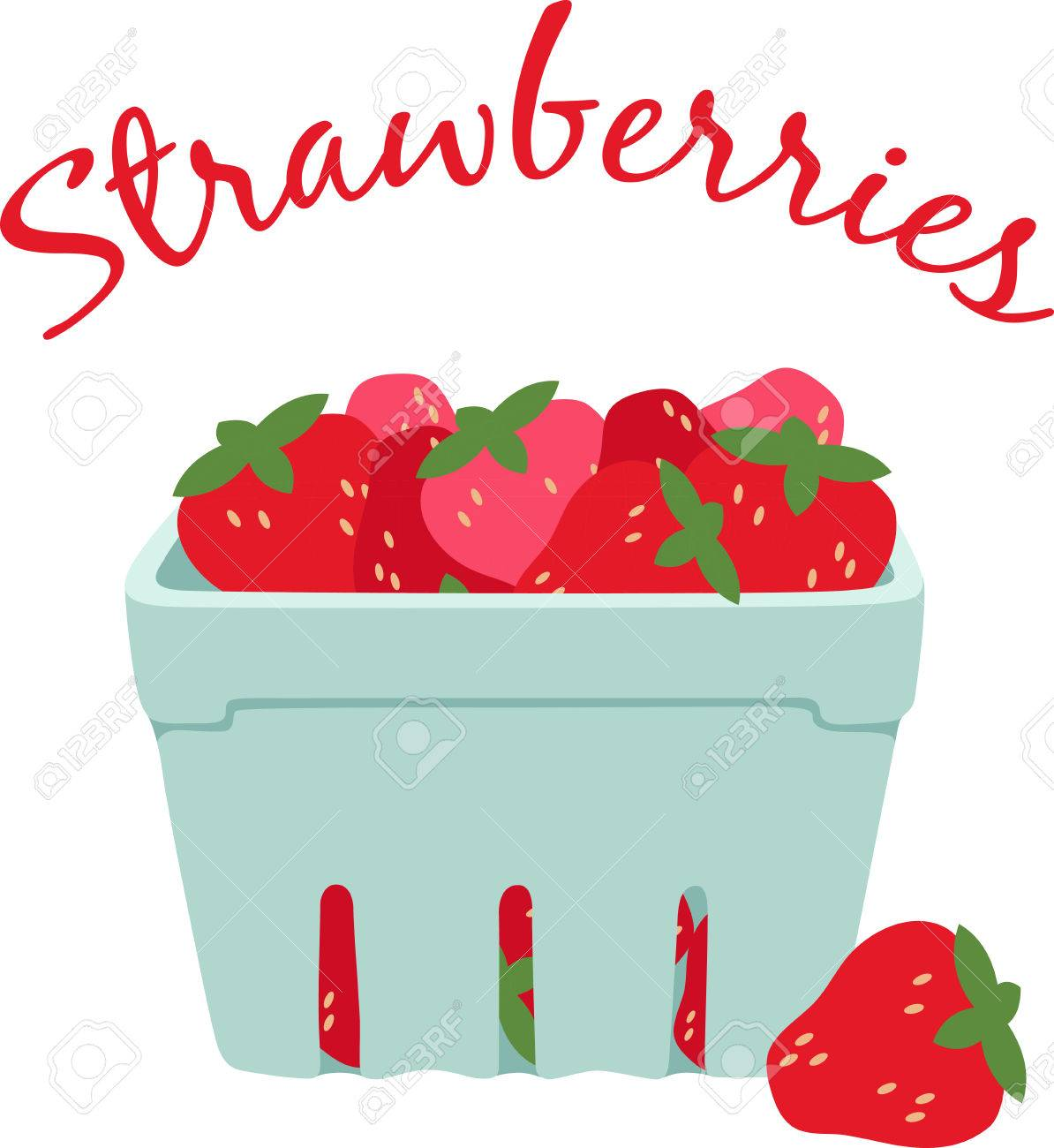 Enjoy Ripe Strawberries Vector - Little screams summer quite like the sweet scent and ripe taste of fresh, plump strawberries. Enjoy the harvest with this design on place mats and ...