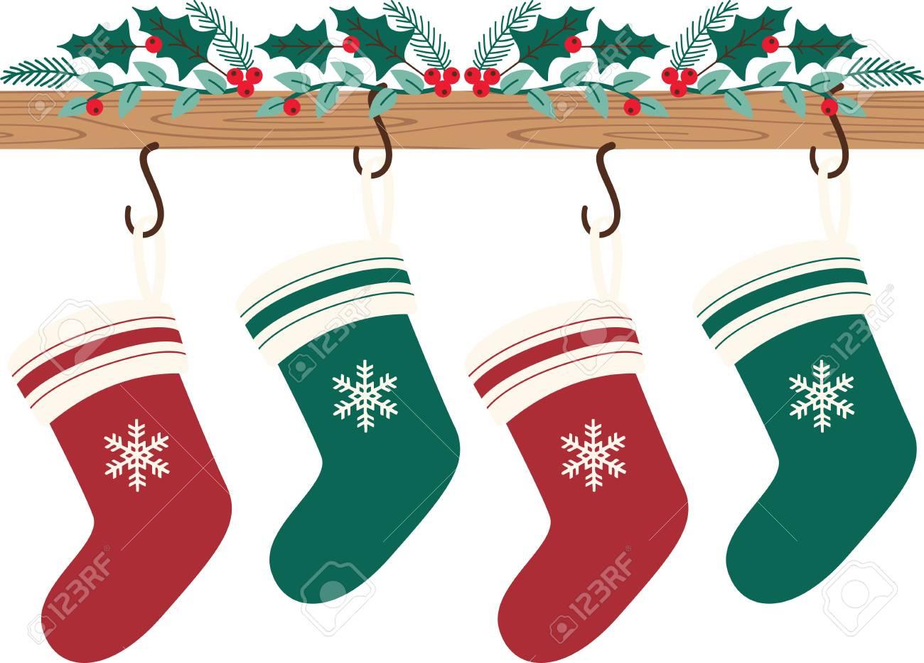 Weihnachtsstrümpfe Ewig Dauern, Machen Sich Jedes Jahr Zu ...