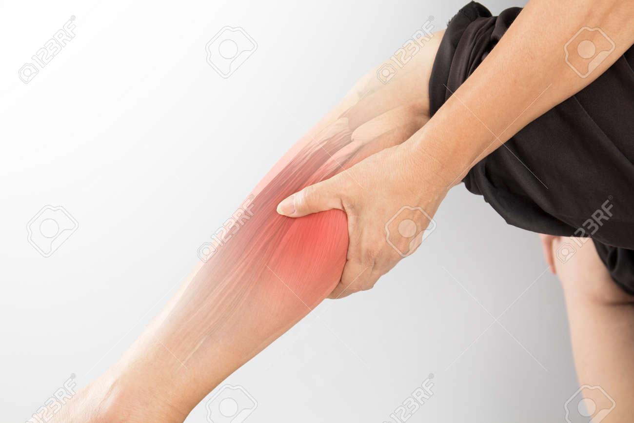 calf muscle pain - 125410803