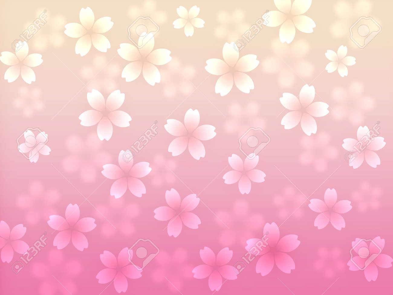 抽象的な桜背景イラスト ロイヤリティーフリーフォト、ピクチャー、画像