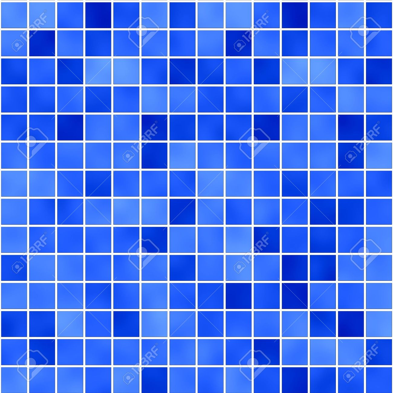 seamless tileable background of bathroom or swimming pool tiles or wall Stock Photo - 3090003