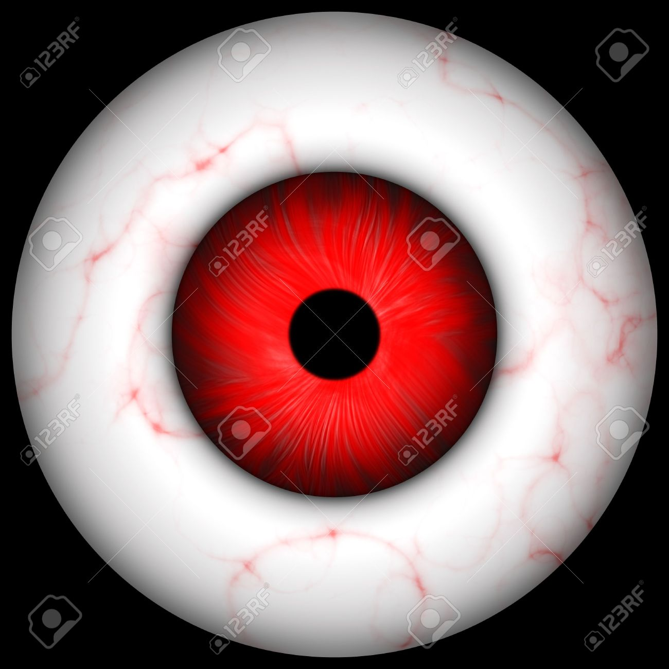 Red Creepy Scary Eye Over Black Great For Halloween Stock Photo Picture And Royalty Free Image Image 3807905