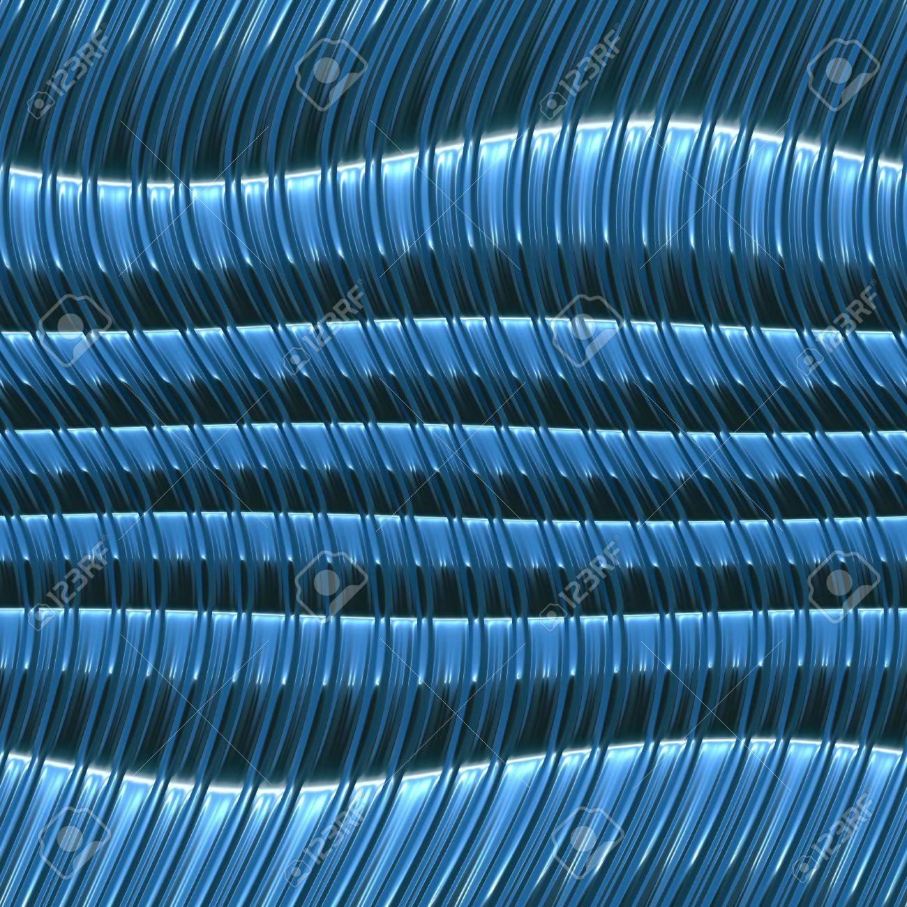 Immagini Stock Ondulate Sfondo Blu Metallizzato Sarà Tegola Senza