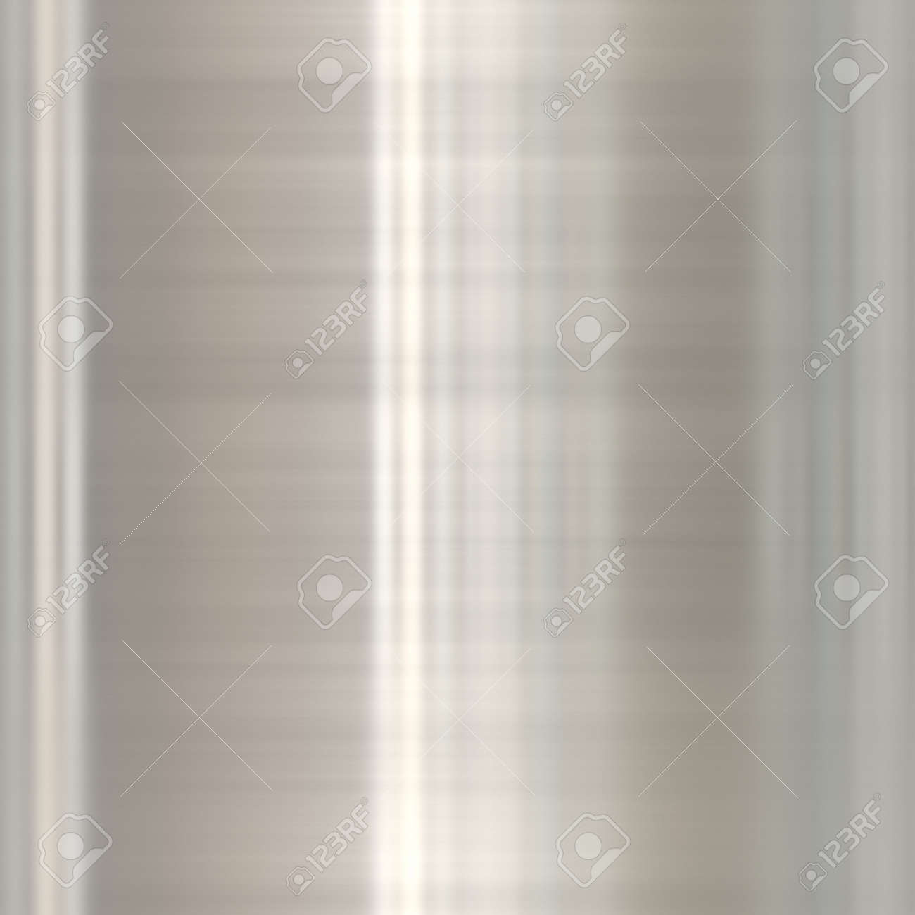 brushed silver aluminum with highlights, seamlessly tillable Stock Photo - 3822797