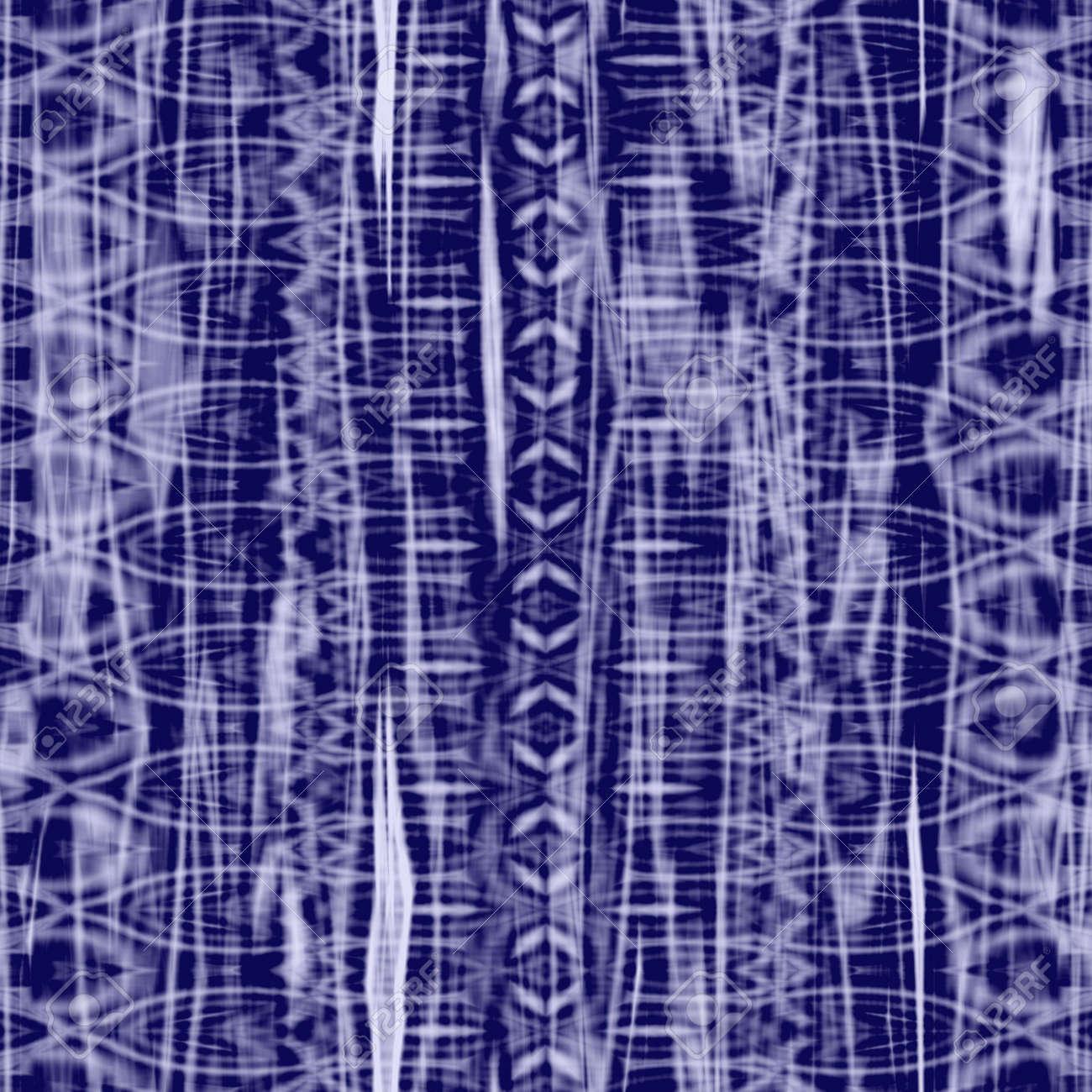 blue purple batik texture that tiles seamlessly as a pattern Stock Photo - 3905302
