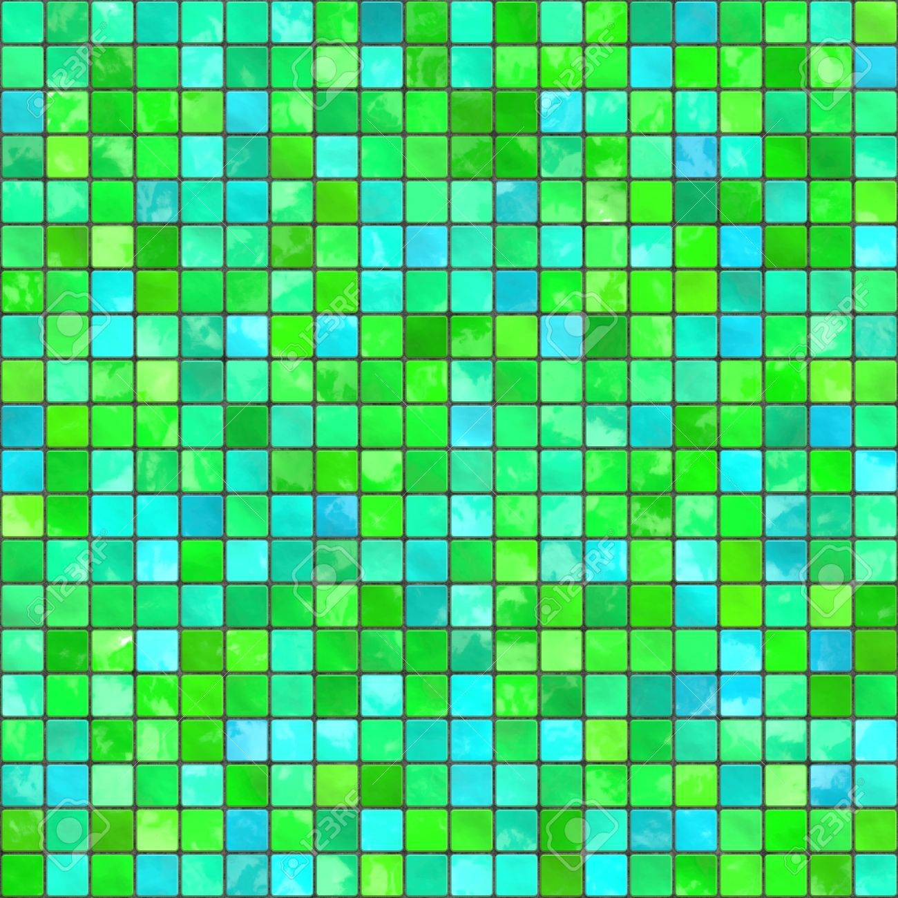 seamless tileable background of bathroom or swimming pool tiles..