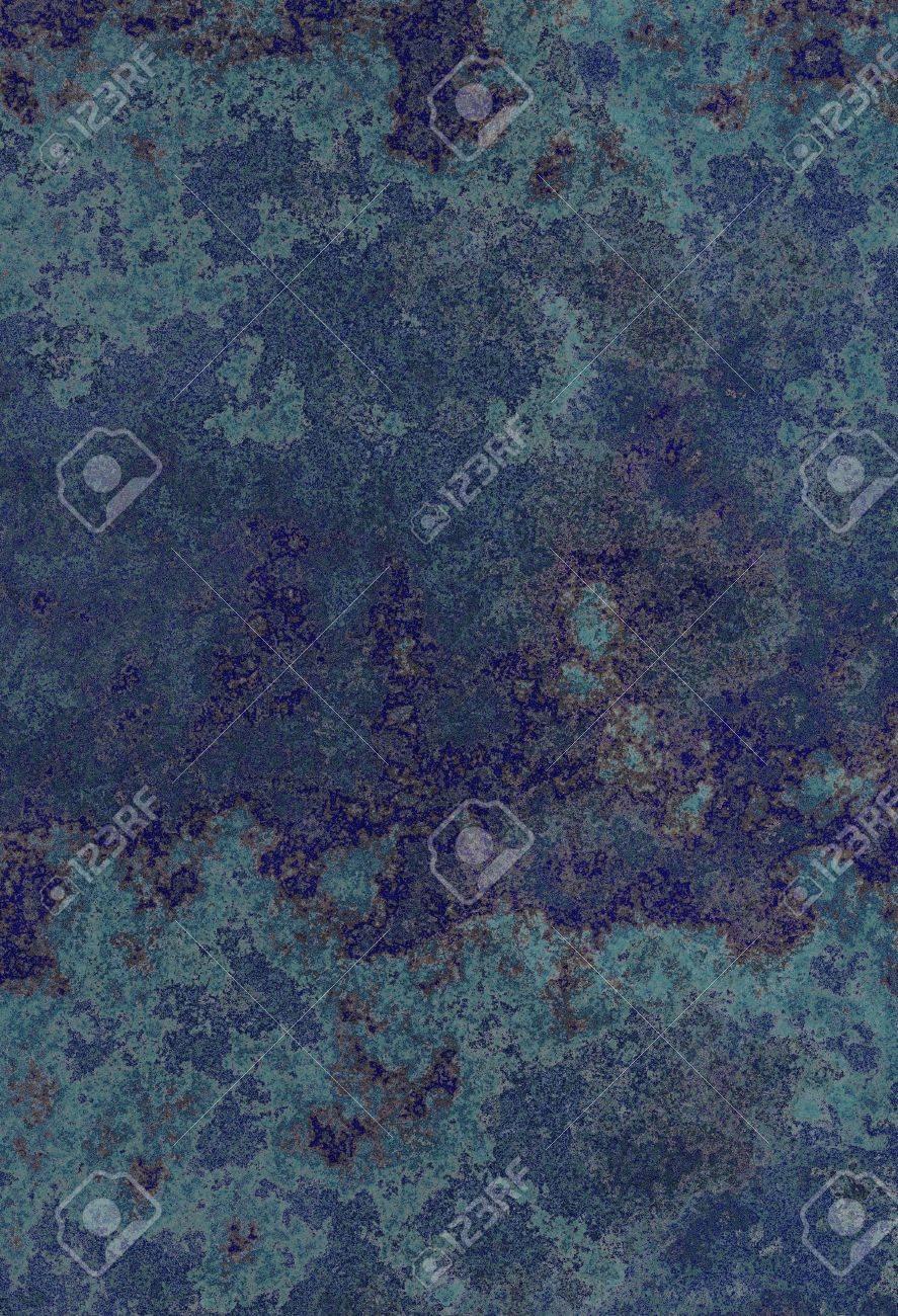 dark blue grunge wall background texture in different shades Stock Photo - 7109229