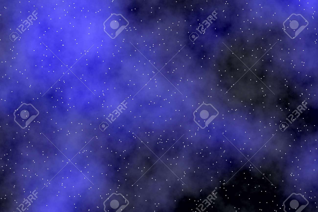 Wallpaper De Ciel Nocturne Avec Les Aurores Boréales étoiles Minuscules Et Effet Onirique