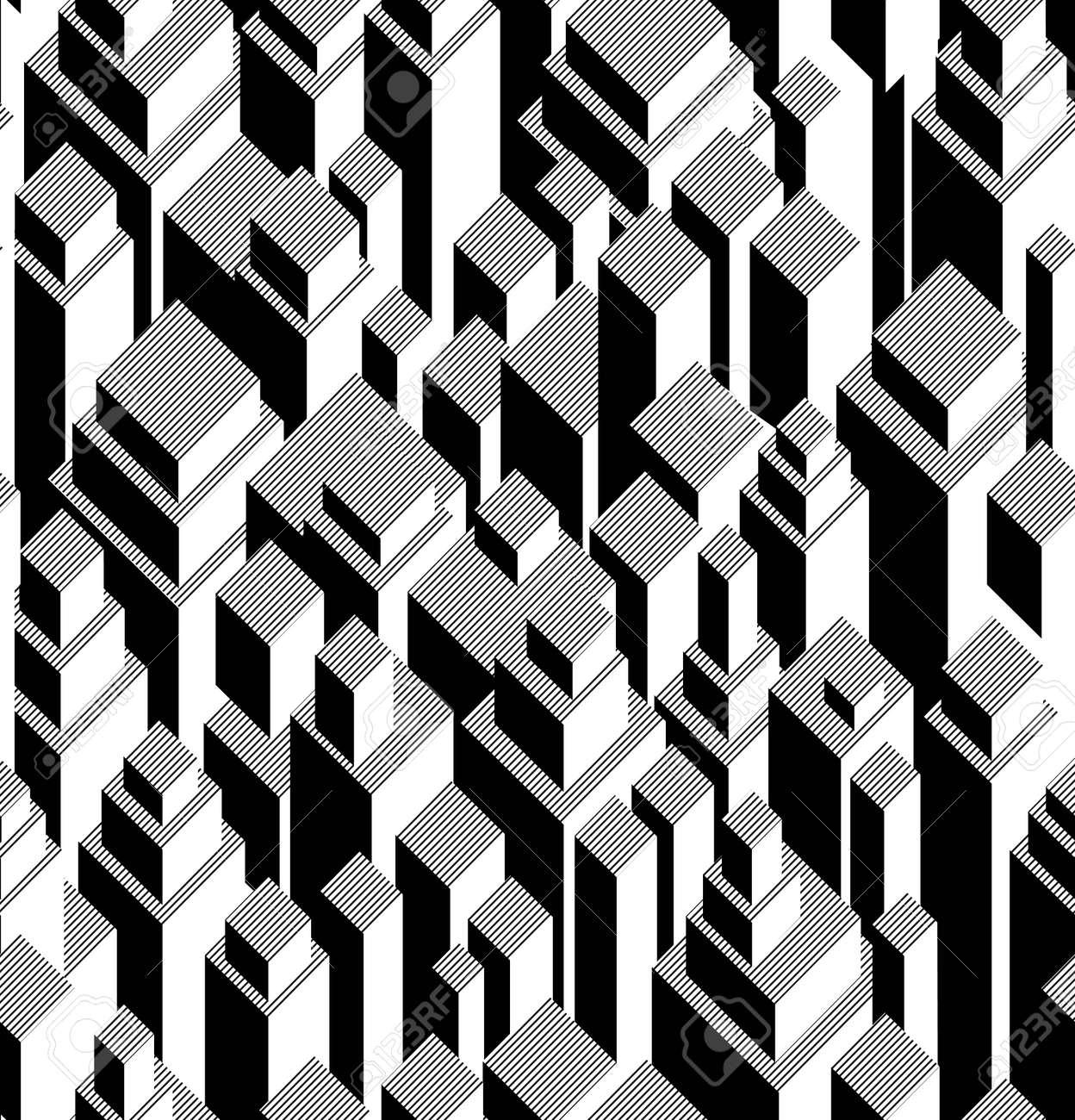 Vector seamless geometric pattern Stock Vector - 21571983