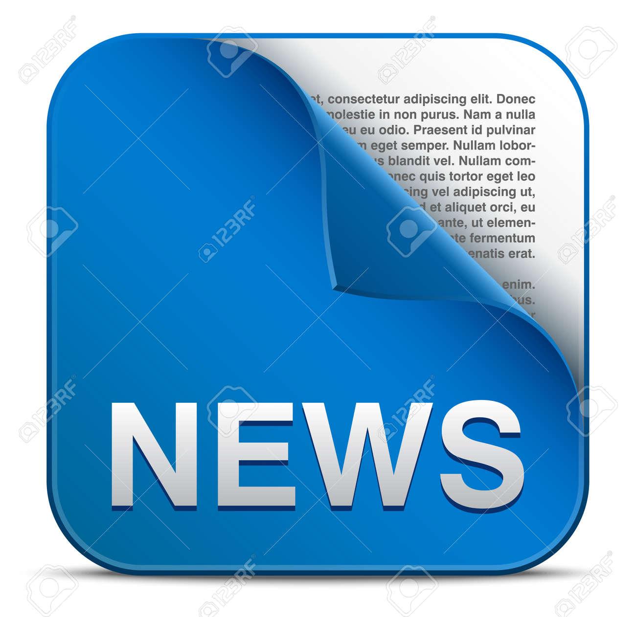 News vector icon Stock Vector - 21990761