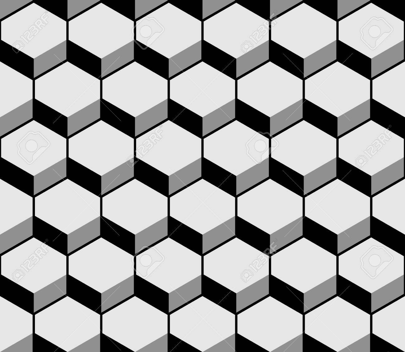 Hexagon Pattern Vector Amazing Decorating