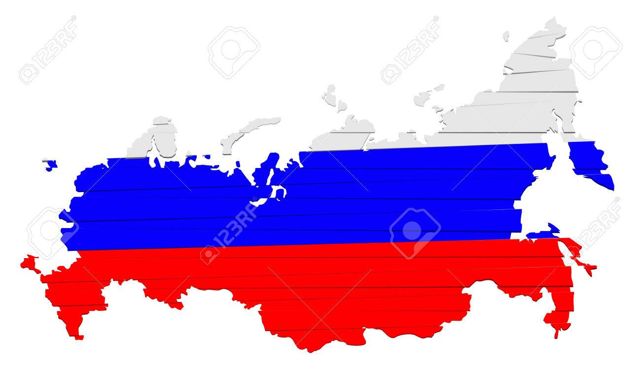 This is modern map russia - 41181568