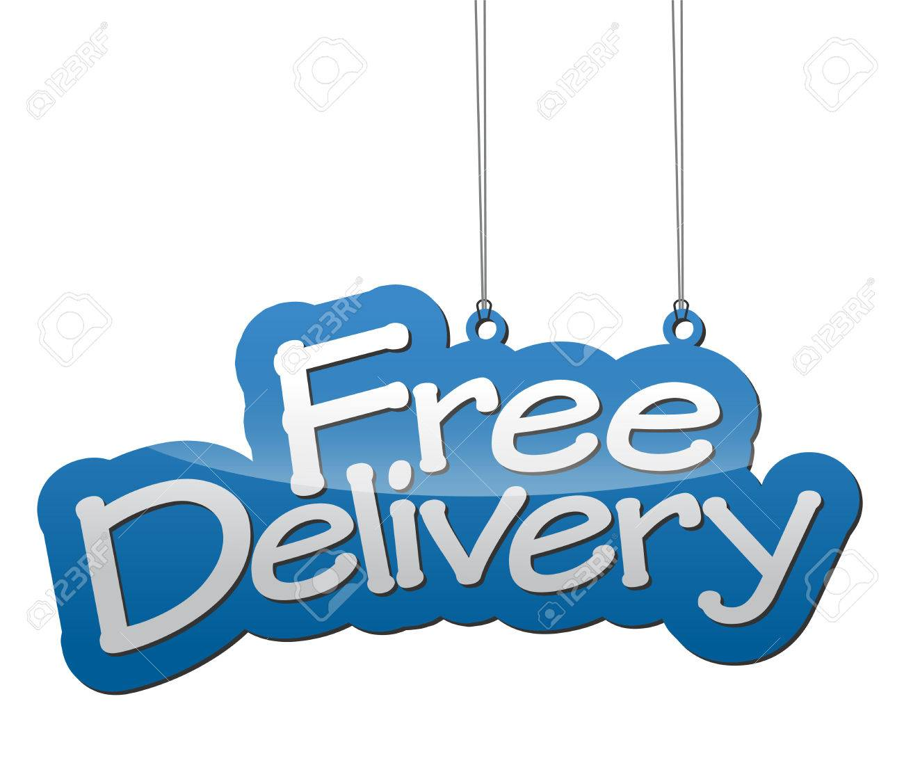 This is background free delivery - 46319374