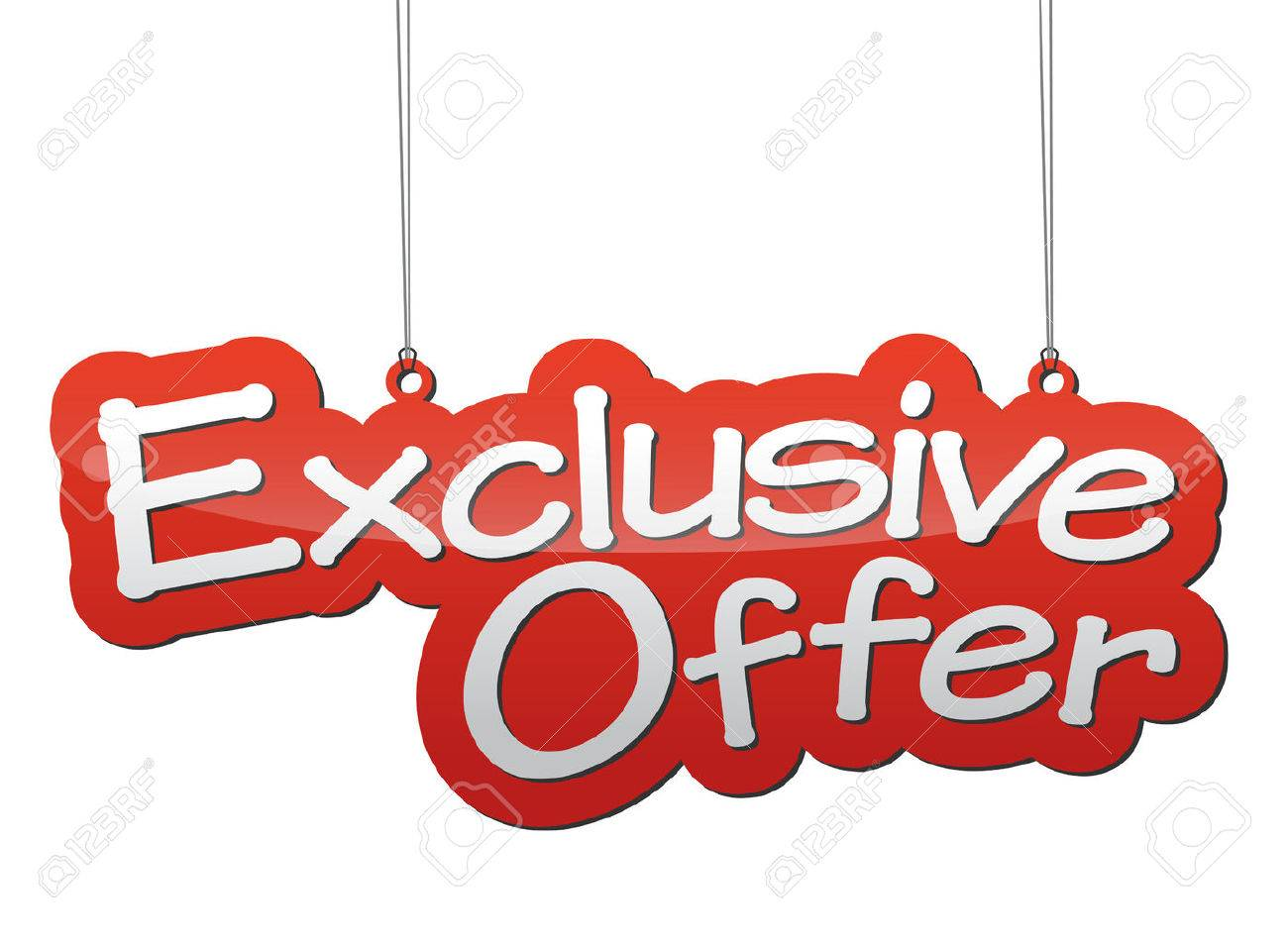 This is background exclusive offer - 46319440