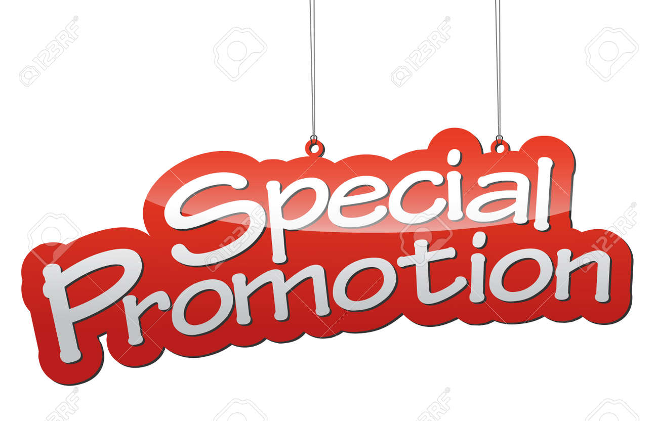 This is red vector illustration background special promotion - 47992800