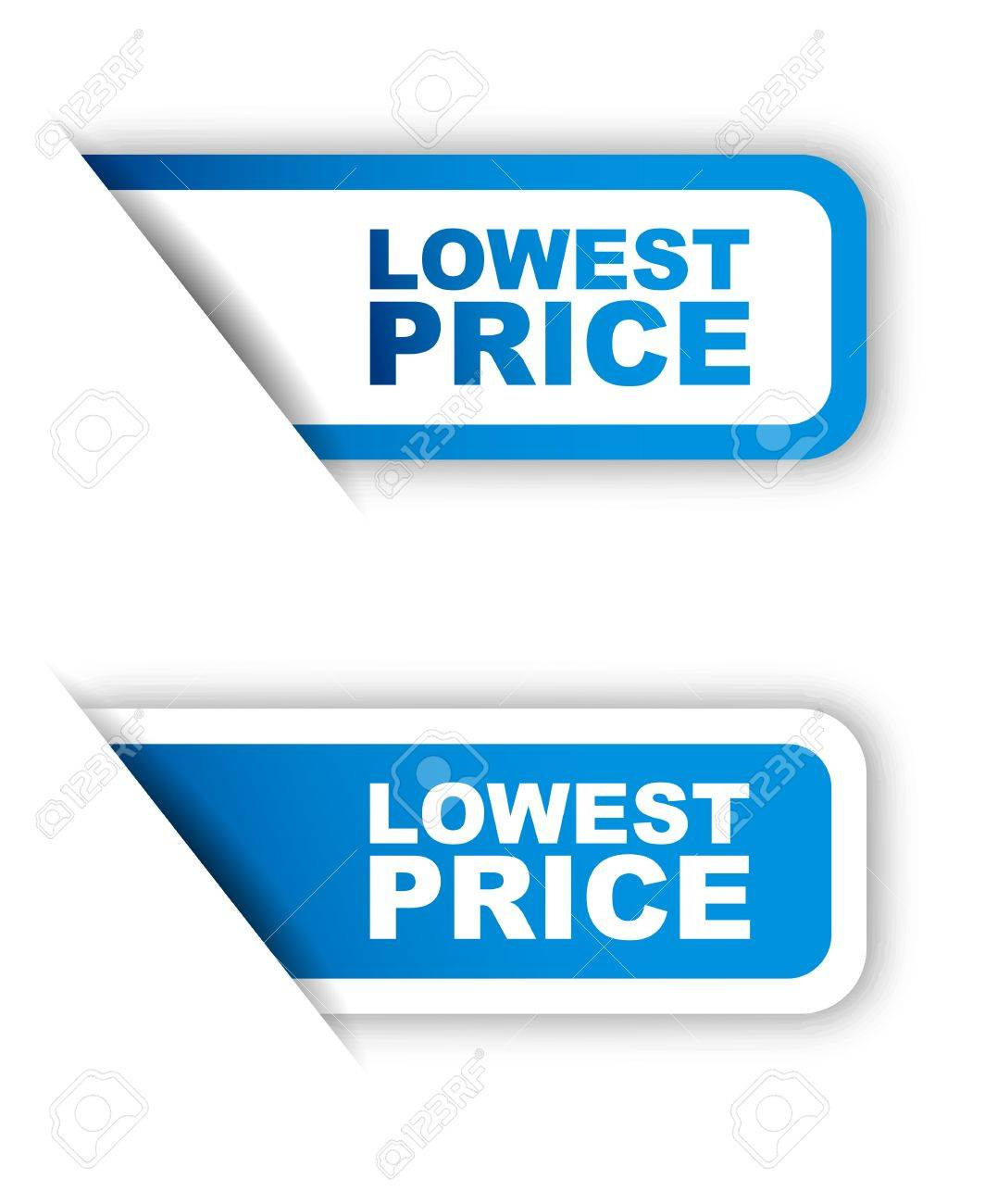 This is blue paper sticker lowest price two variant - 50145270