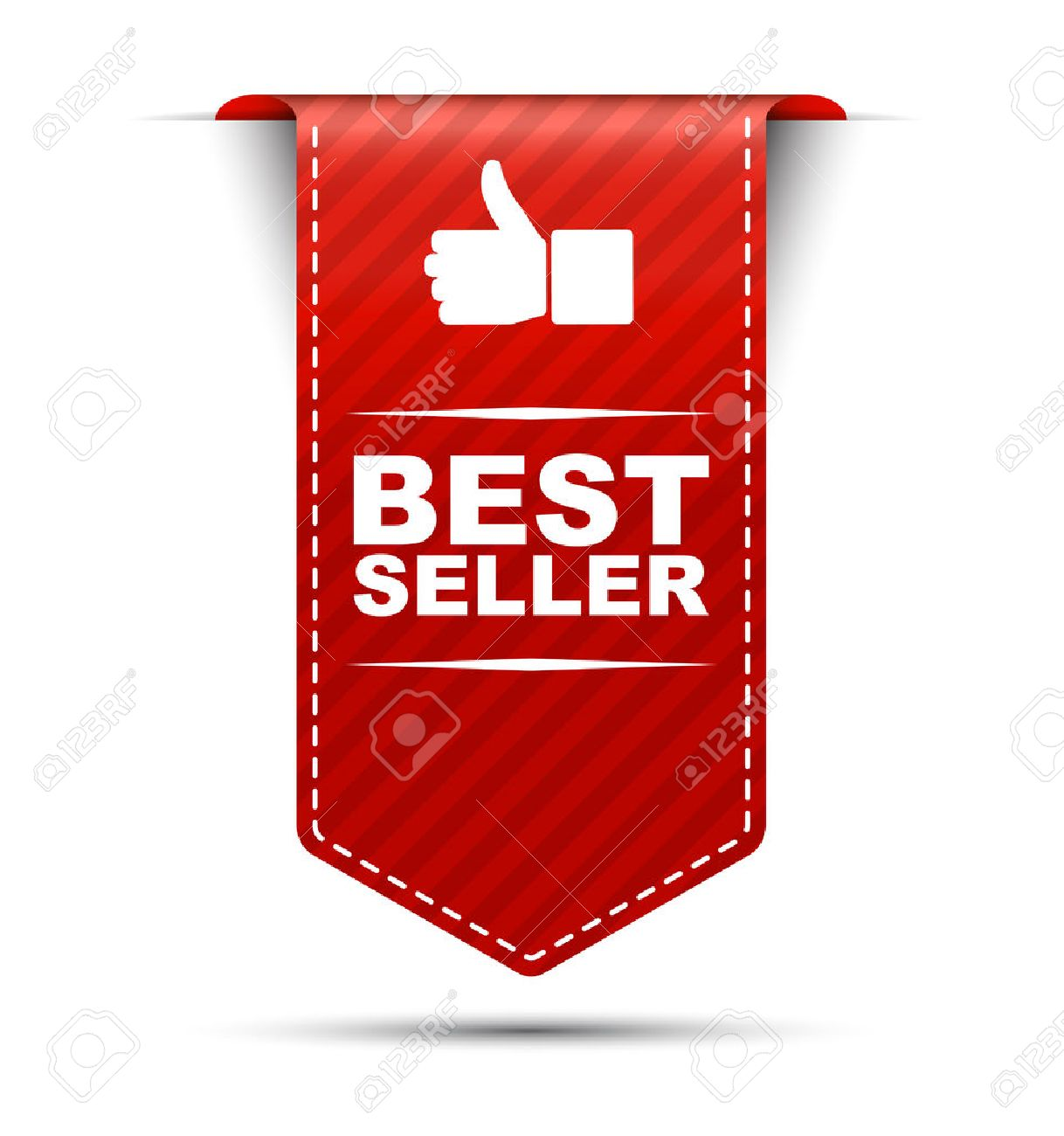 This is red vector banner design best seller - 55019648