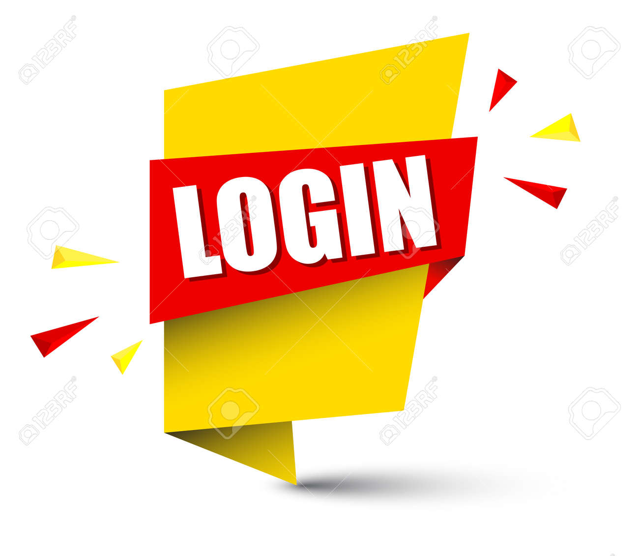 banner login royalty free cliparts vectors and stock illustration rh 123rf com redvector login osha