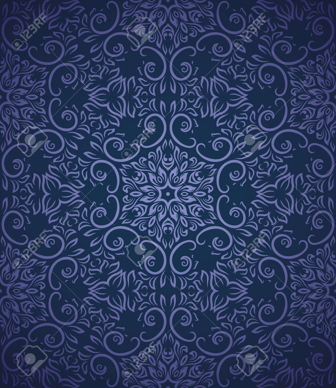 Seamless pattern with gradient background Stock Vector - 13048586