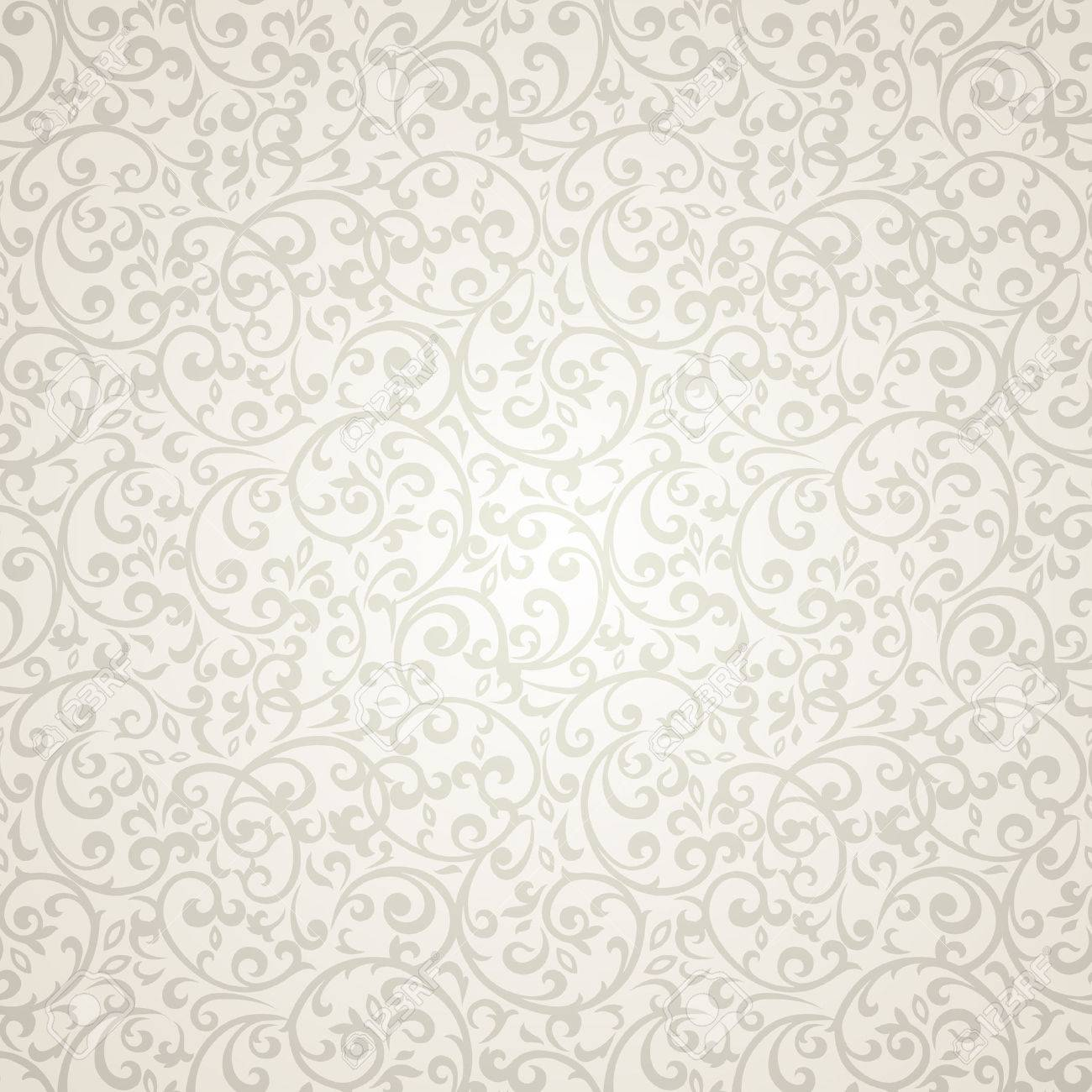 Vintage seamless pattern with lot of detailed elements. - 45582446