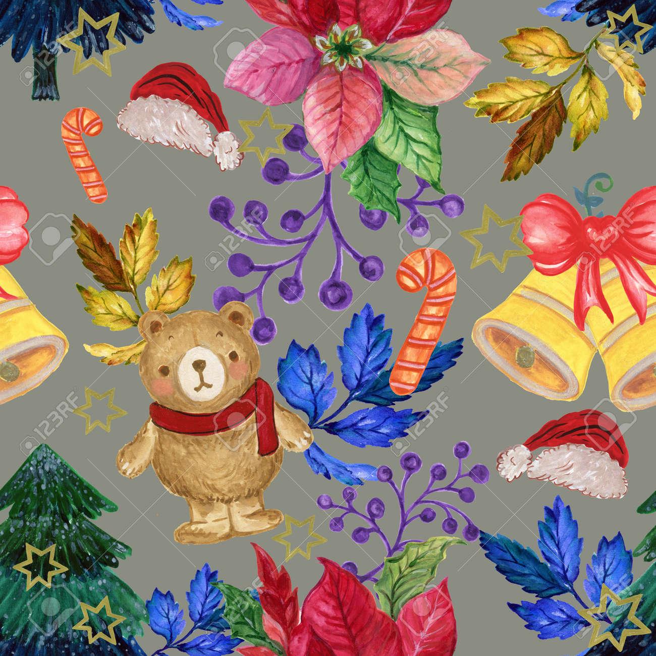 Christmas Illustrations Vintage.Stock Illustration