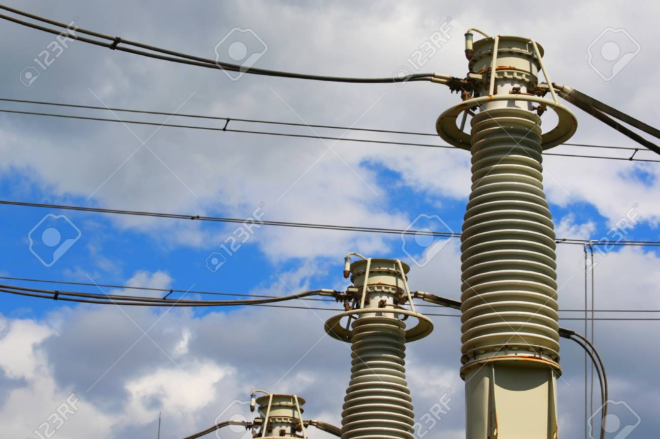 Equipment of high electric voltage Stock Photo - 14075101