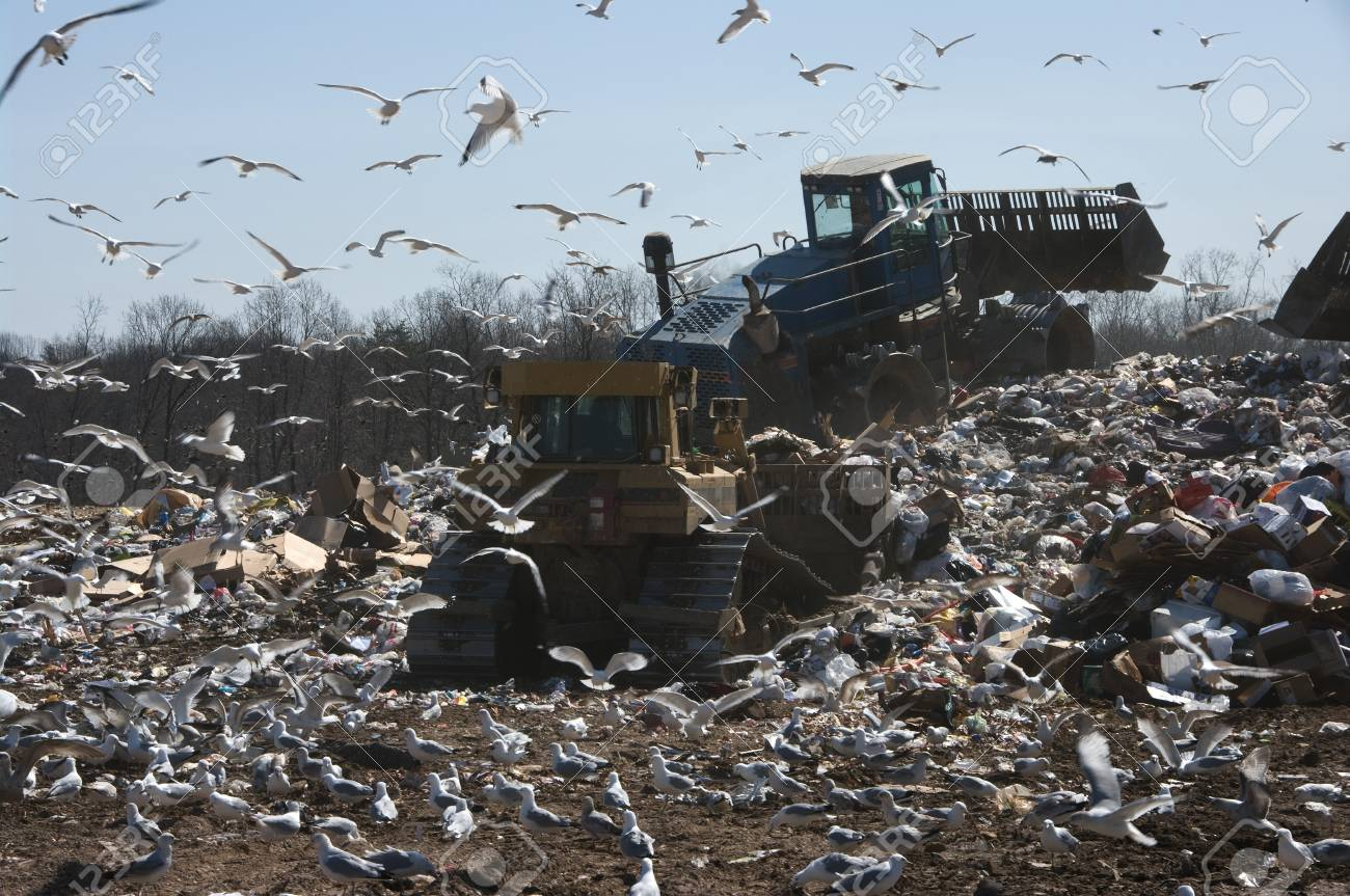 A landfill in the US - 4552579