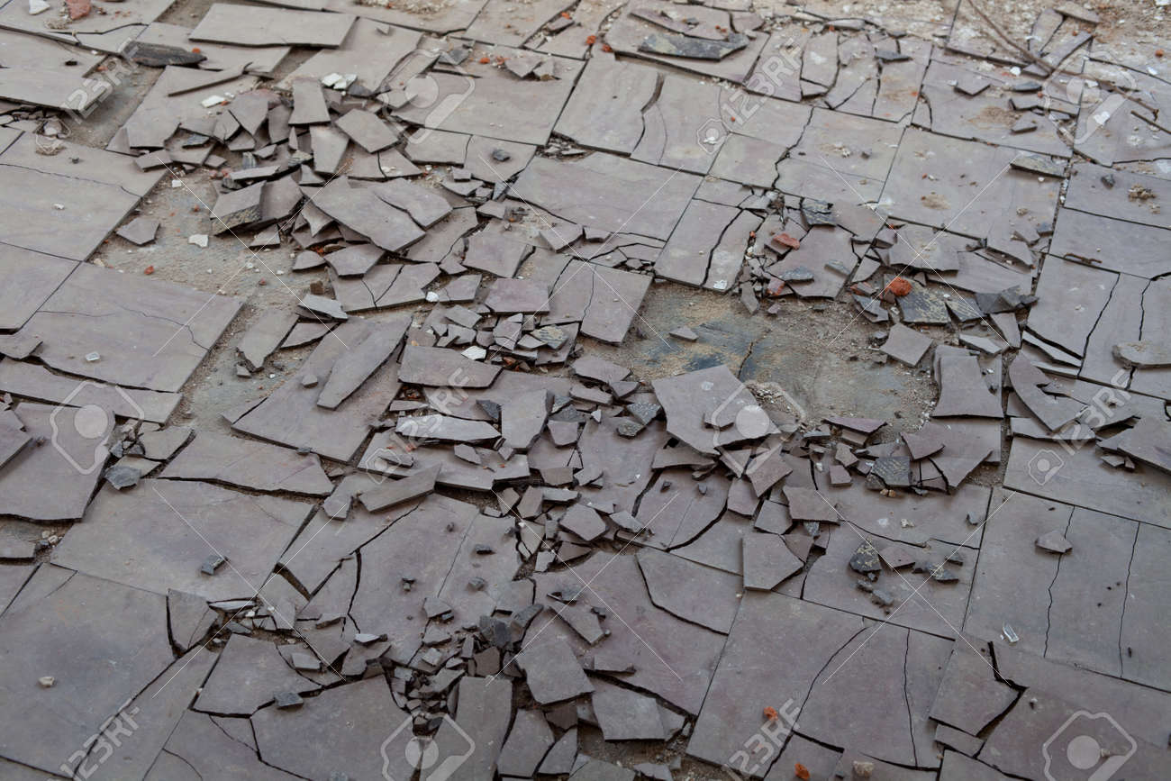Broken stone beige 132 ft wide x your choice length residential old and broken asbestos floor tiles stock photo picture and old and broken asbestos floor tiles dailygadgetfo Image collections