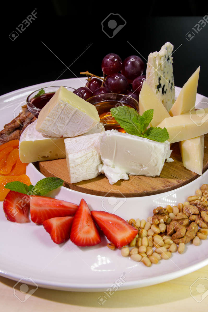 Cheese plate. - 142255465