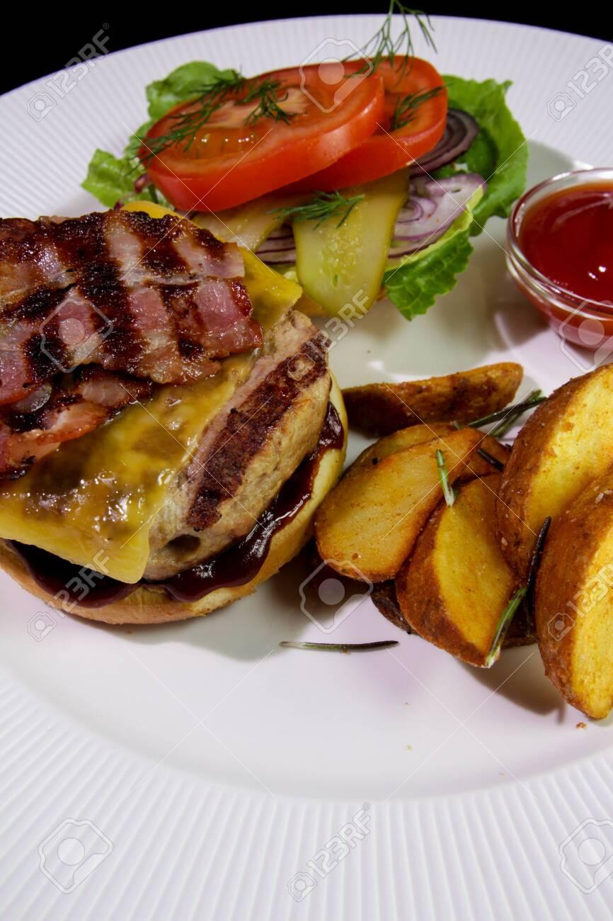 Close-up.Unhealthy food. - 142255473