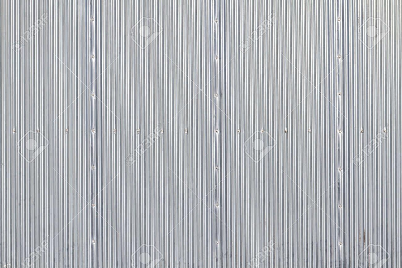 white garage door texture. Stock Photo - Stripped Texture Metal Background, Garage Door White
