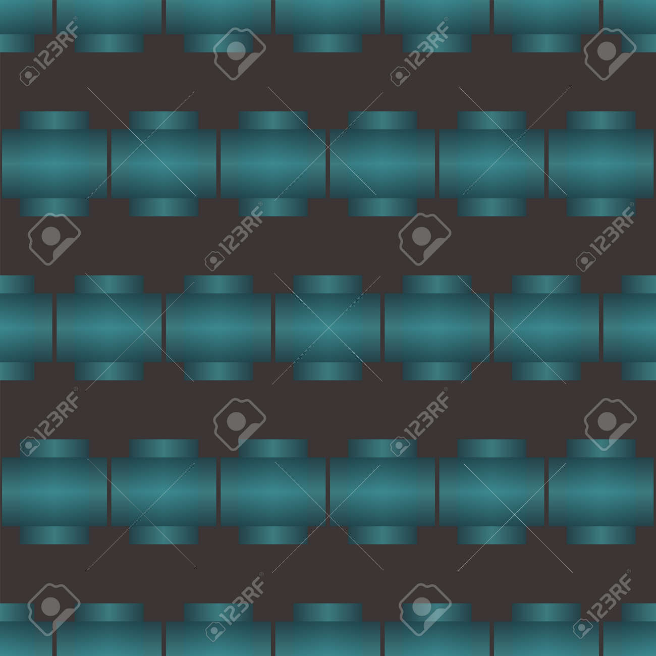 Seamless Abstract Pattern Created From Repetition Of Plus Cross