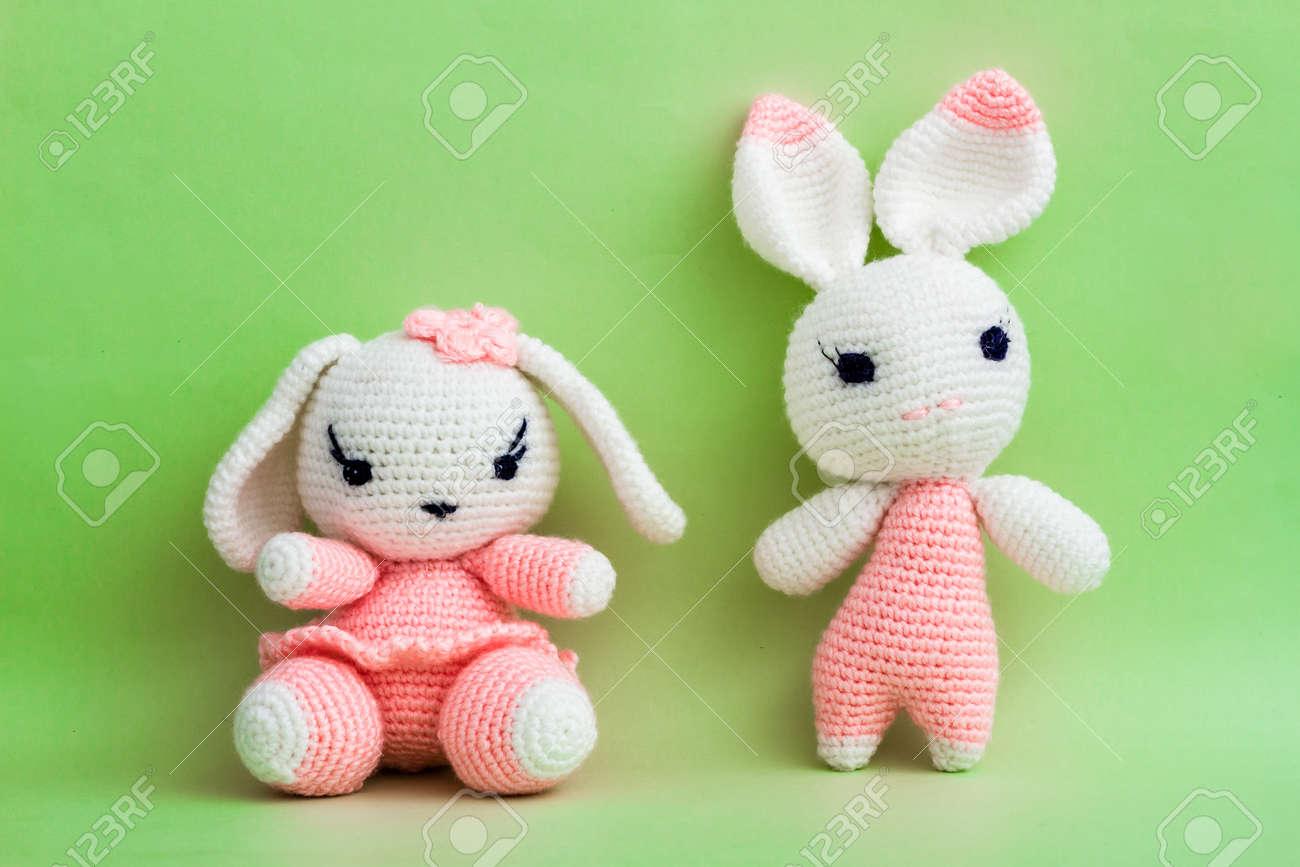 Super cute amigurumi crochet Easter bunny rabbit rag doll | Etsy | 866x1300