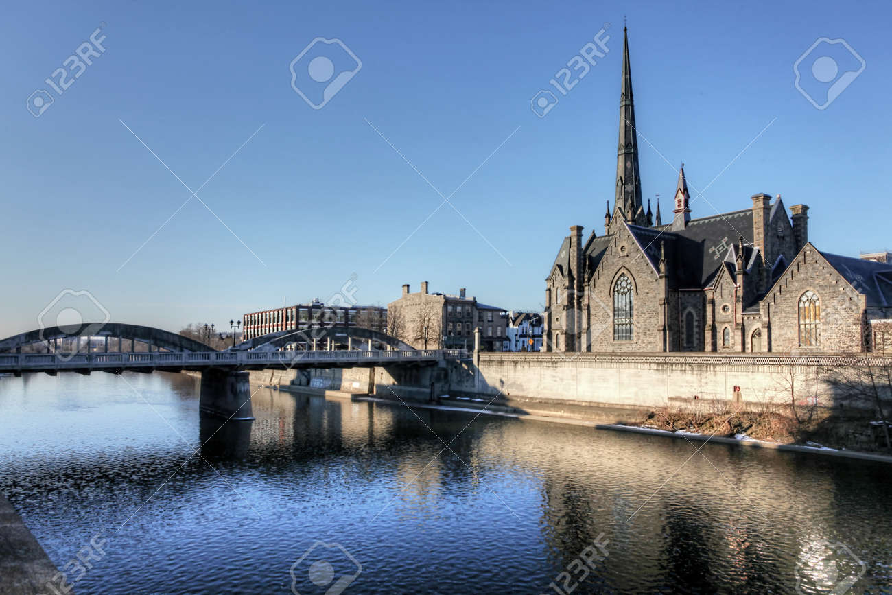 Cities of the world - Alphabetic  - Page 41 58640767-a-church-along-grand-river-cambridge-ontario-canada