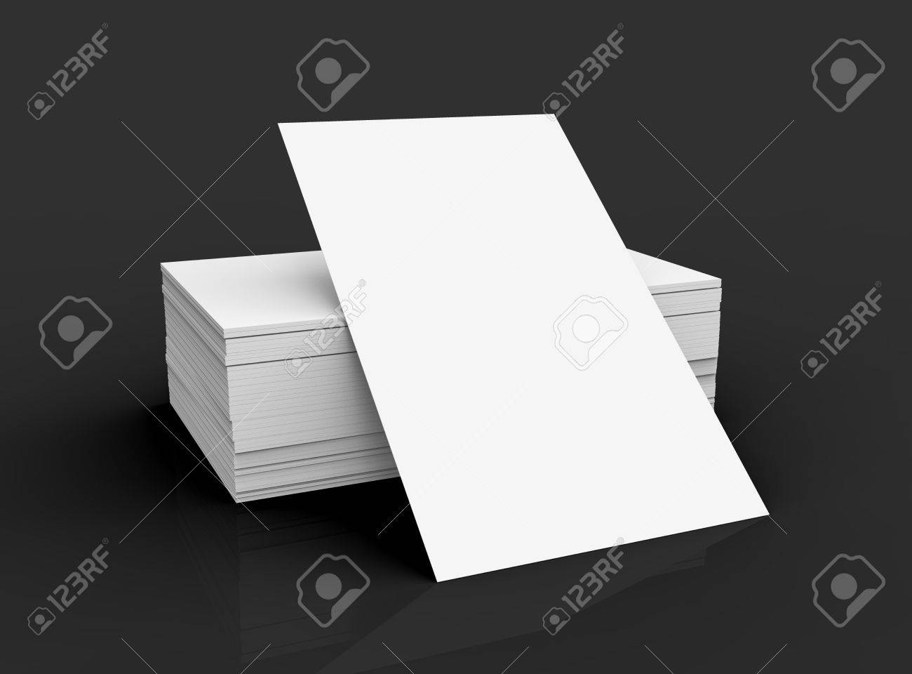 Stack of business card template blank unfilled card for edited stack of business card template blank unfilled card for edited isolated on black background stock colourmoves
