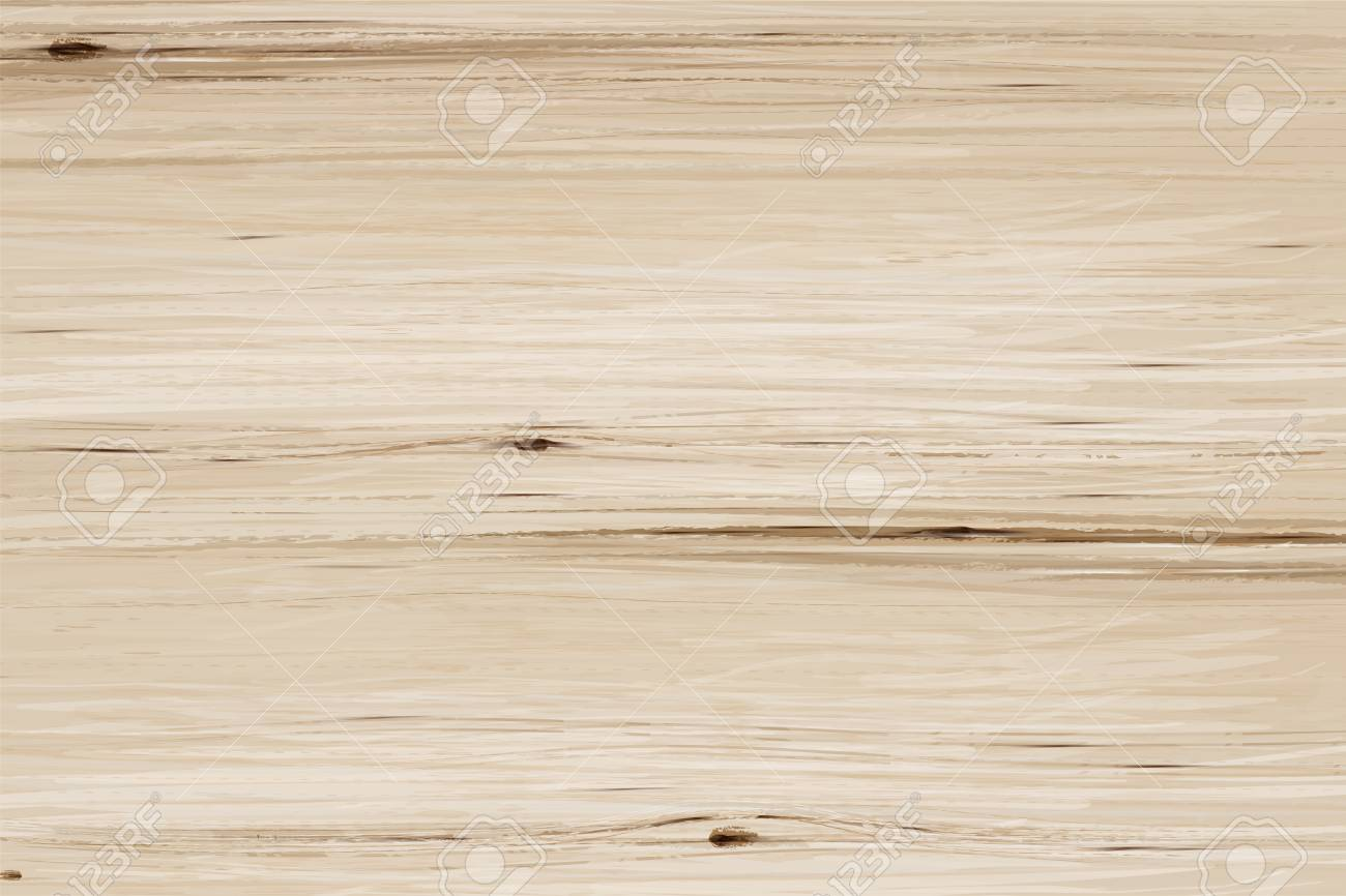 Wooden grain table background in 3d illustration, flat lay view - 109897948