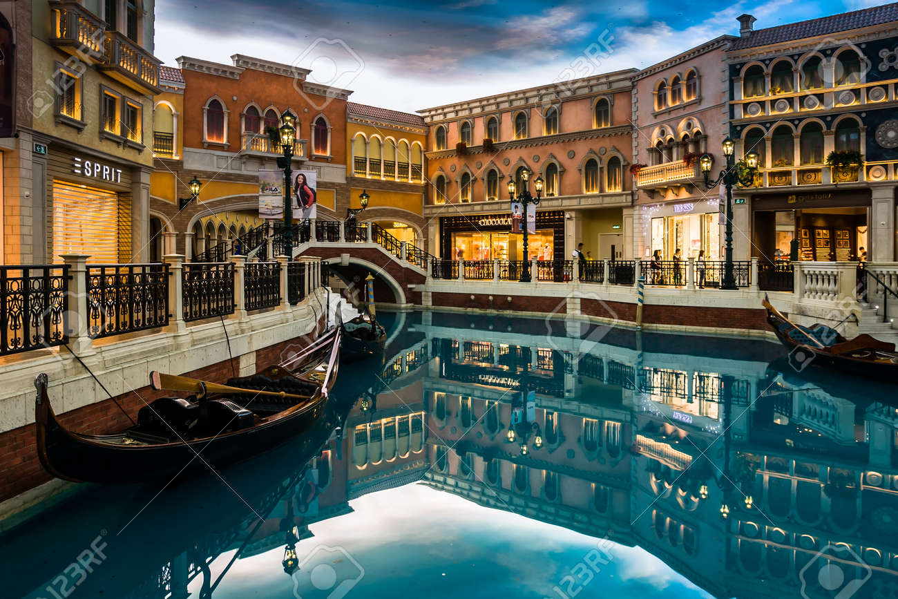 The venetian macao resort hotel in macau china stock photo picture the venetian macao resort hotel in macau china stock photo 38406898 altavistaventures Images