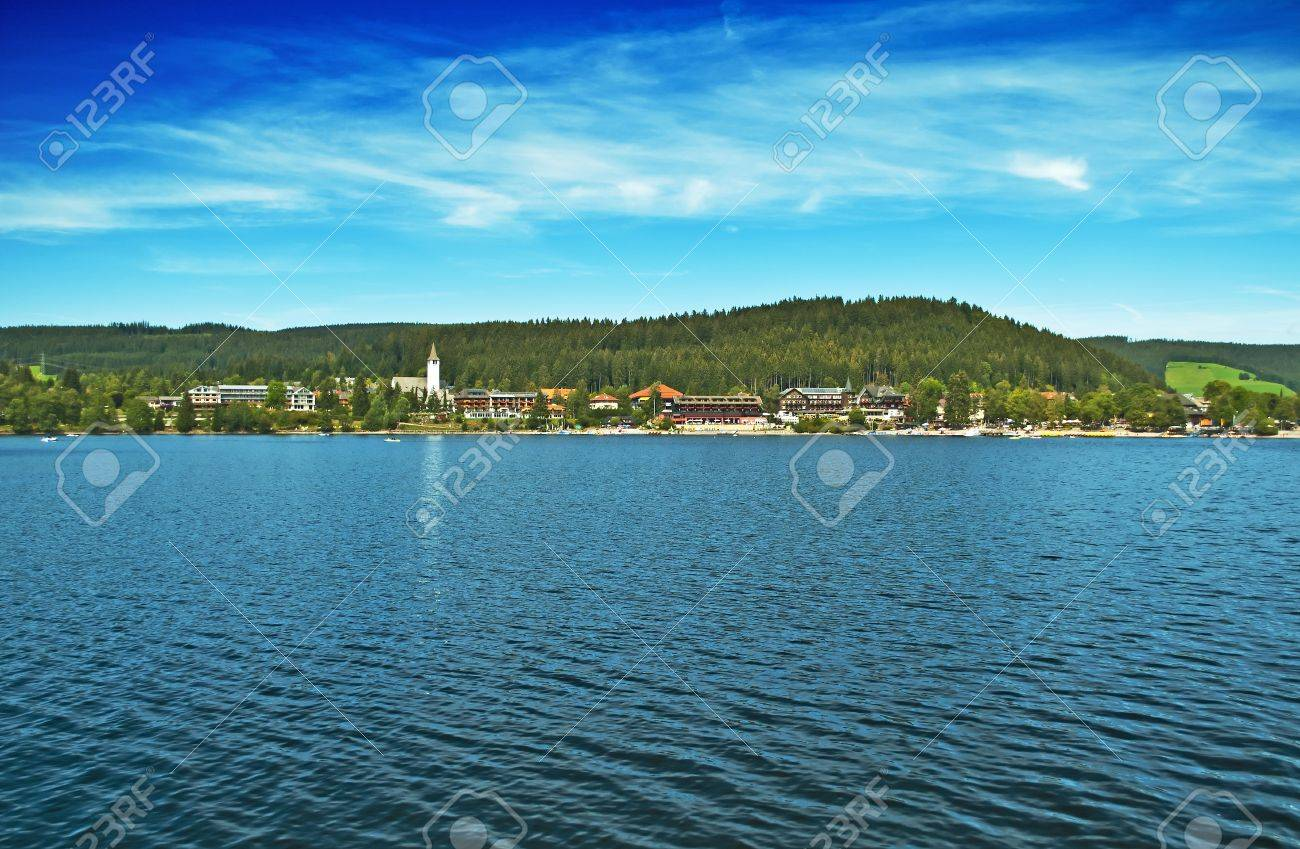Lake Titisee in the German Black Forest Stock Photo - 10458219