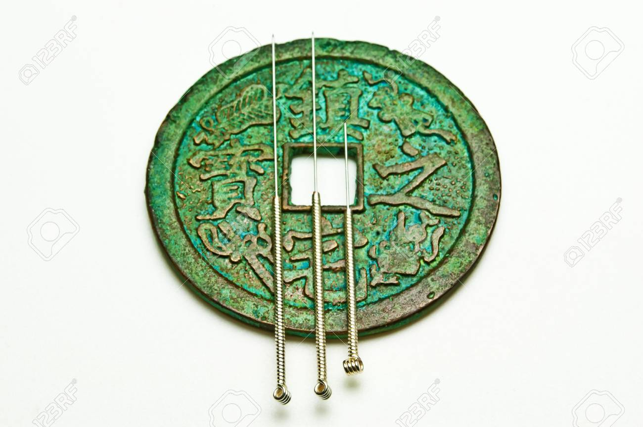 acupuncture needles Stock Photo - 11080015