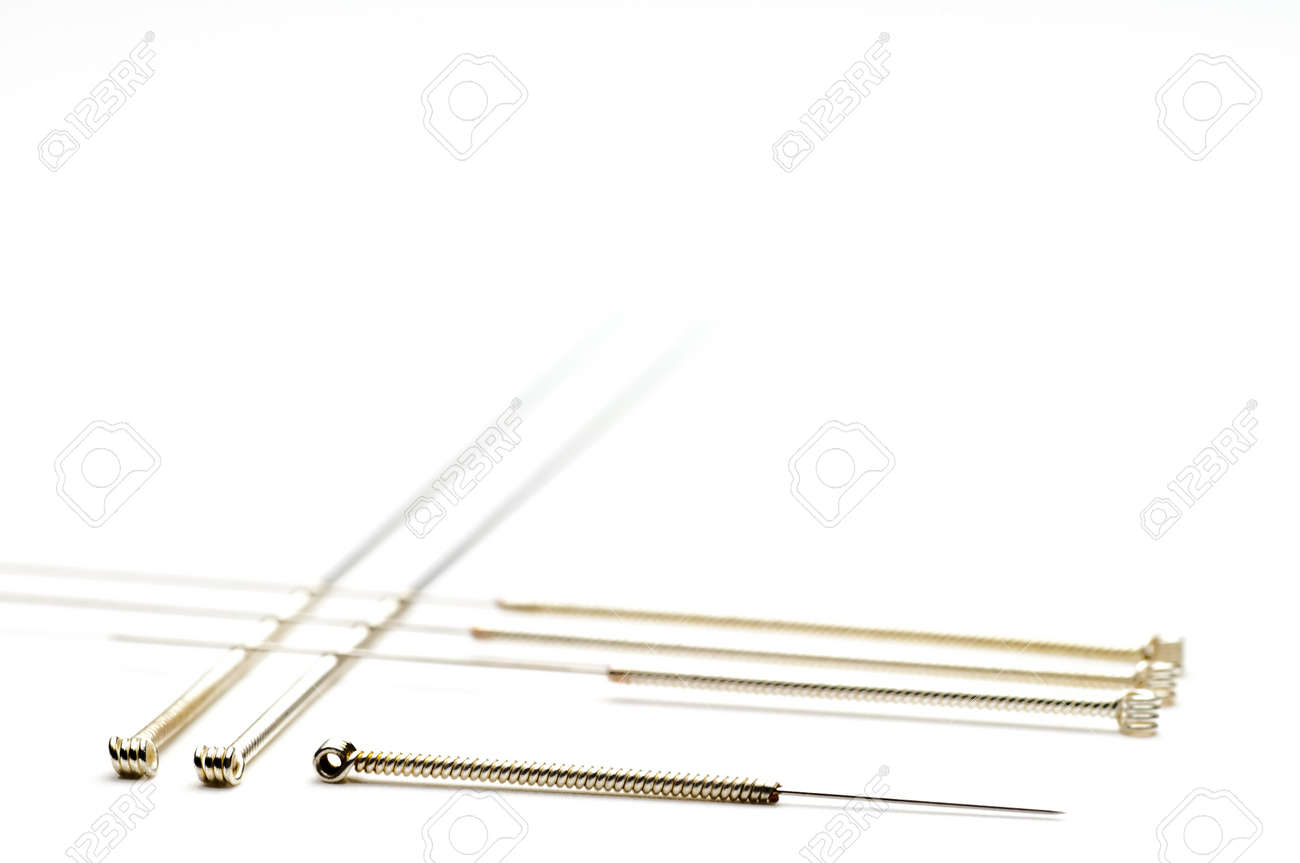 Acupuncture needles Stock Photo - 11485652