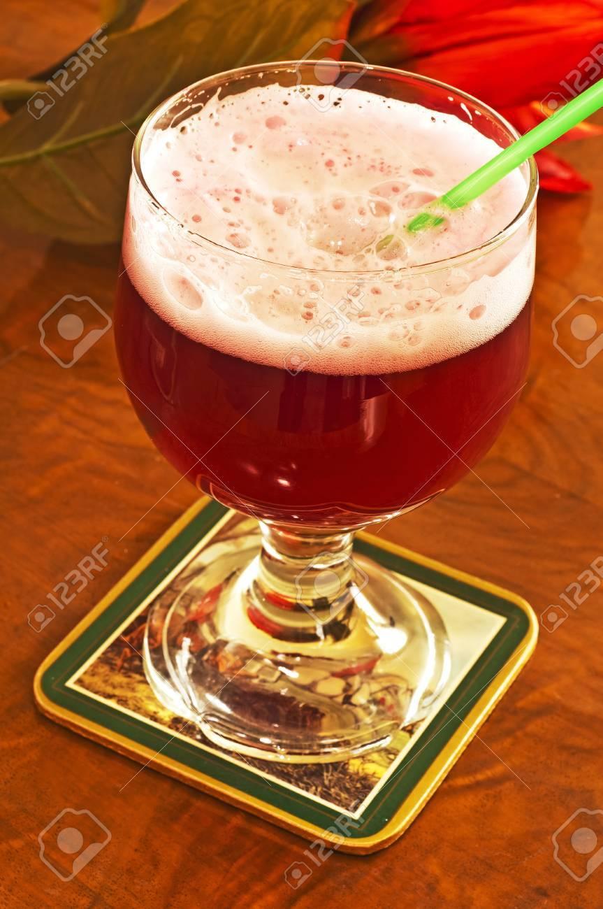 famous mixed beer named Berliner Weisse - 13278727