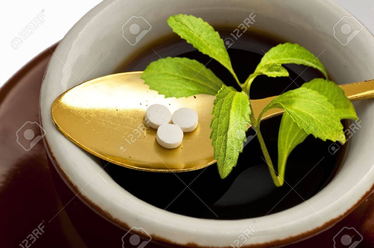 Stevia rebaudiana, support for sugar,tablets - 13797347