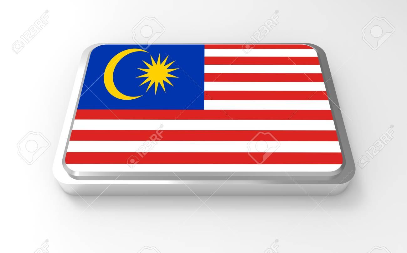 Malaysia  flag 3D Stock Photo - 17046199