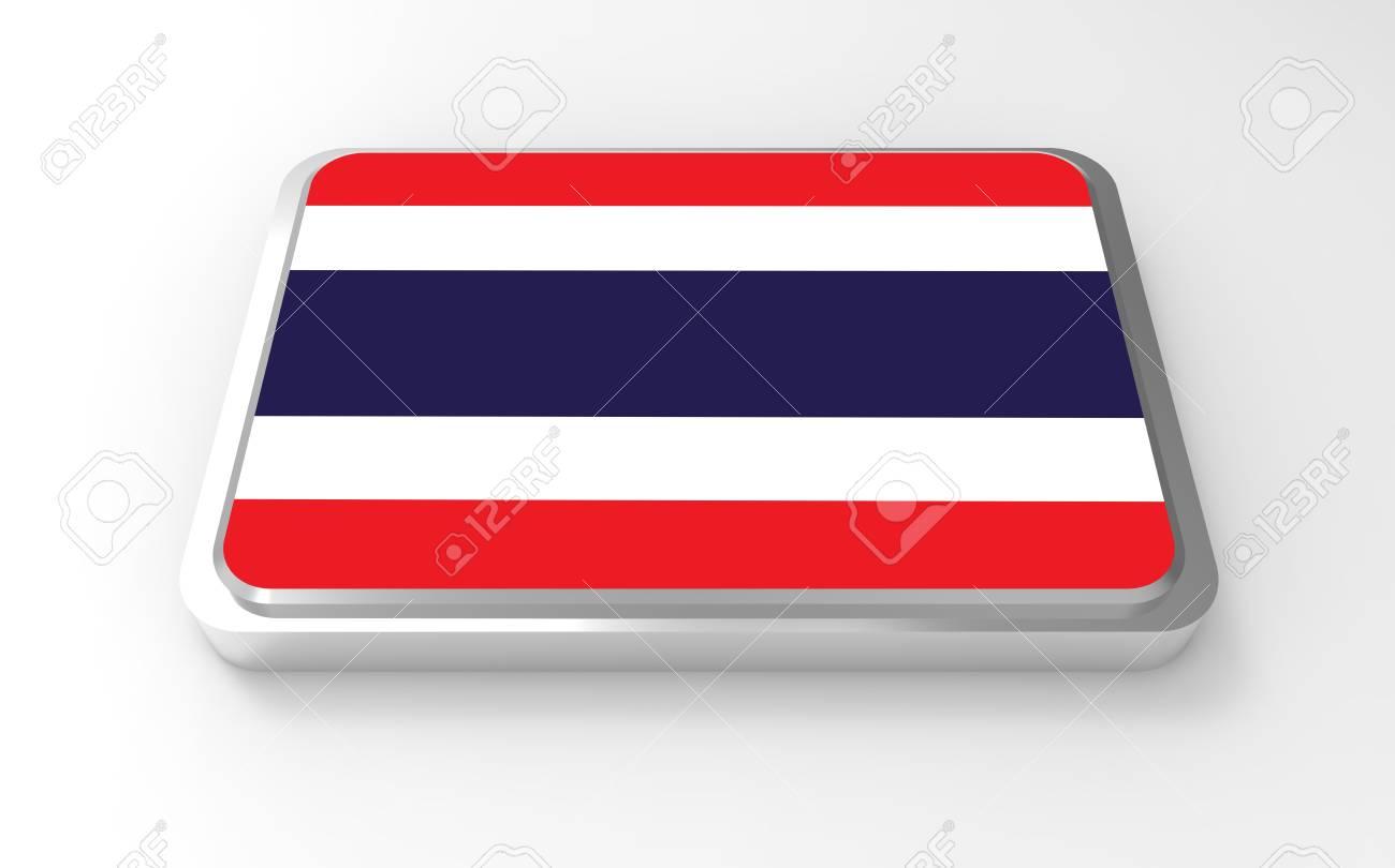Thailand flag 3D Stock Photo - 17047379