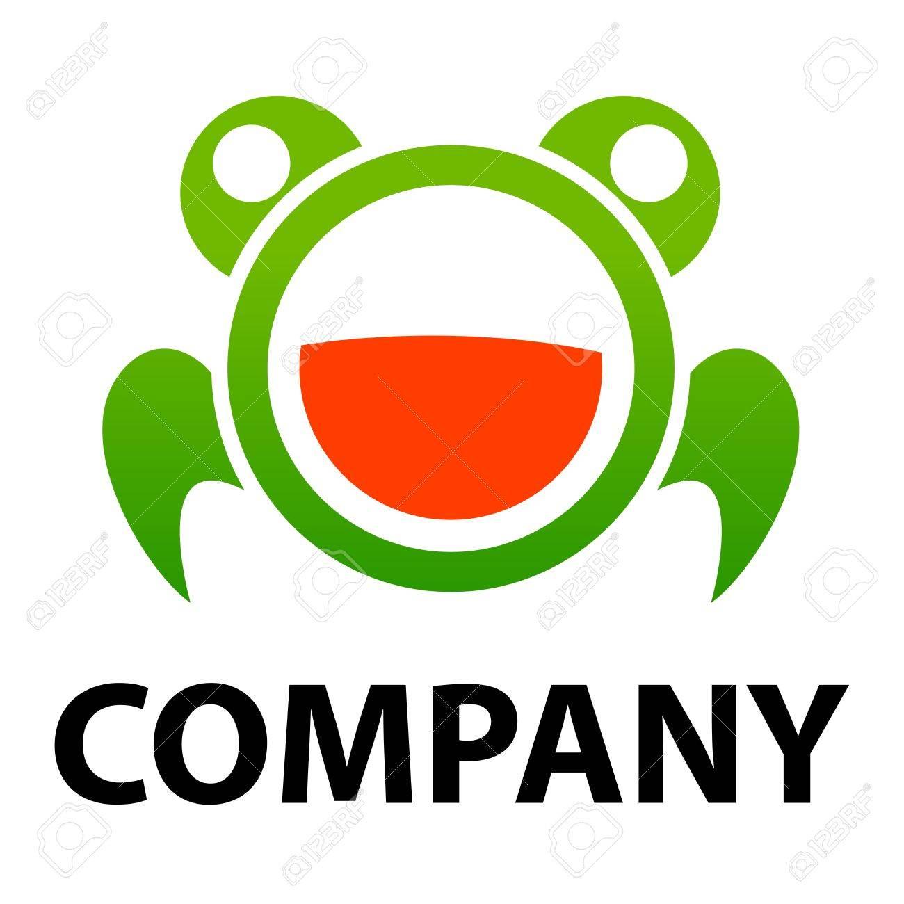 Frog logo vector Stock Vector - 17078163