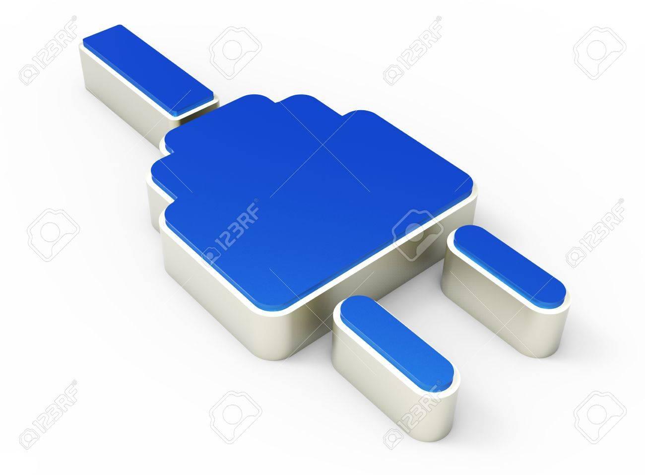 electric plug icon 3D Stock Photo - 17300500