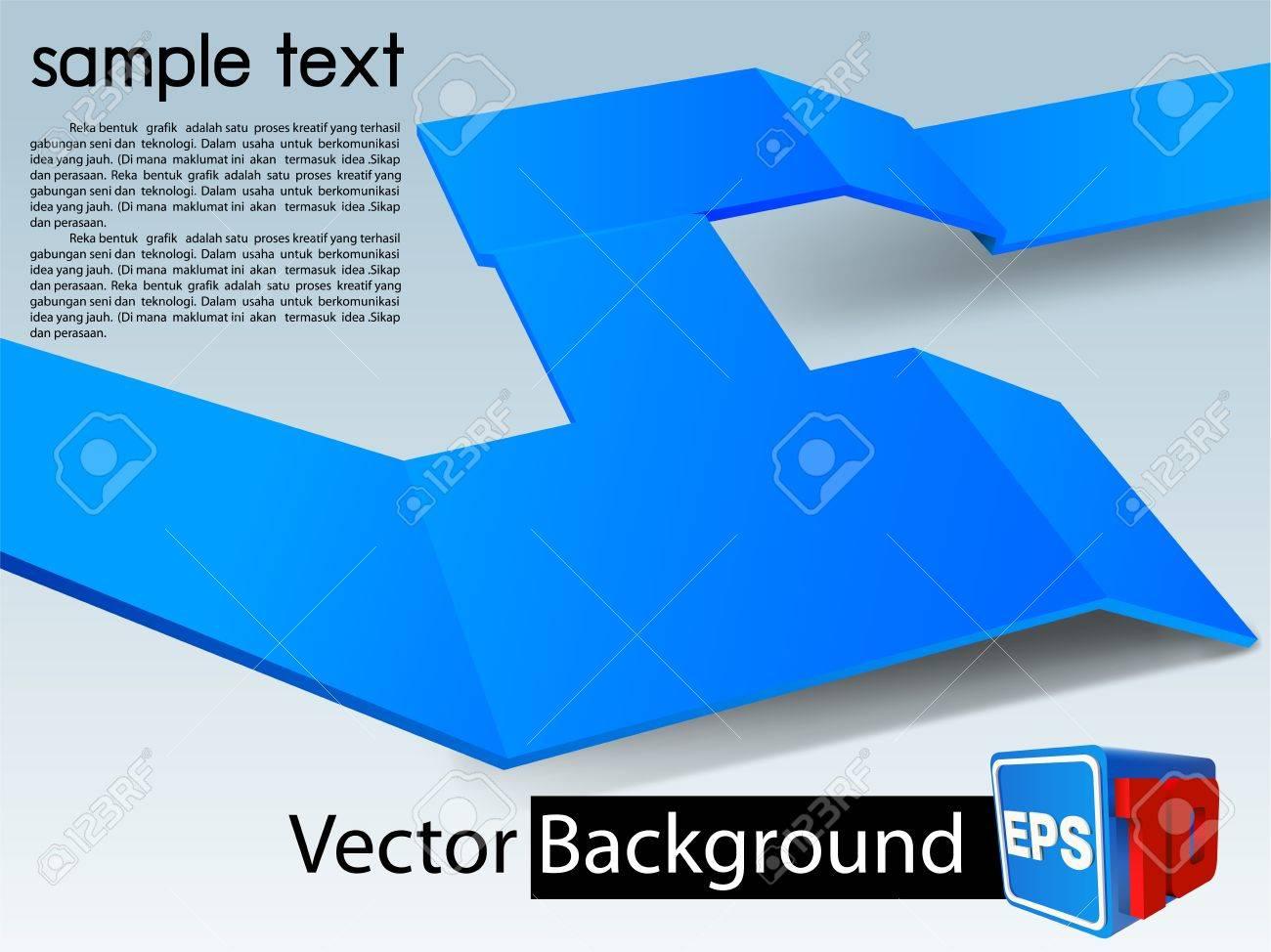 vector background 3D Stock Vector - 19000436