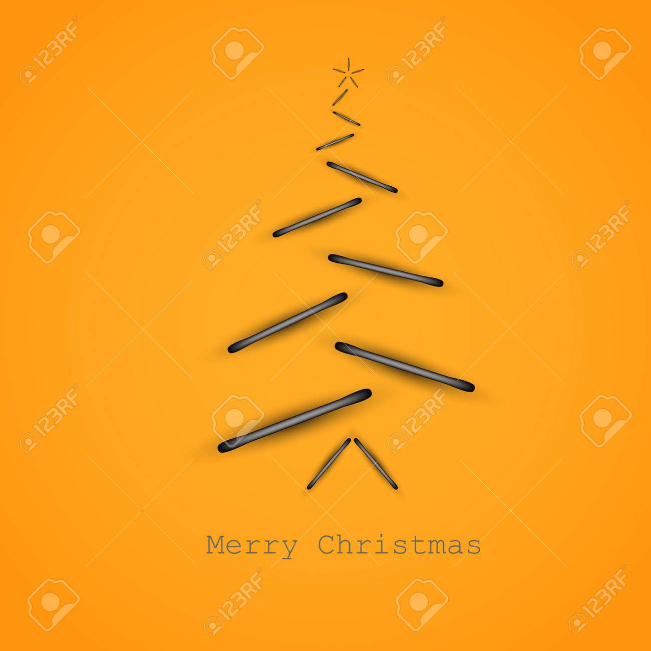 simple vector de rboles de navidad original de la tarjeta de ao nuevo foto de with tarjeta de navidad original
