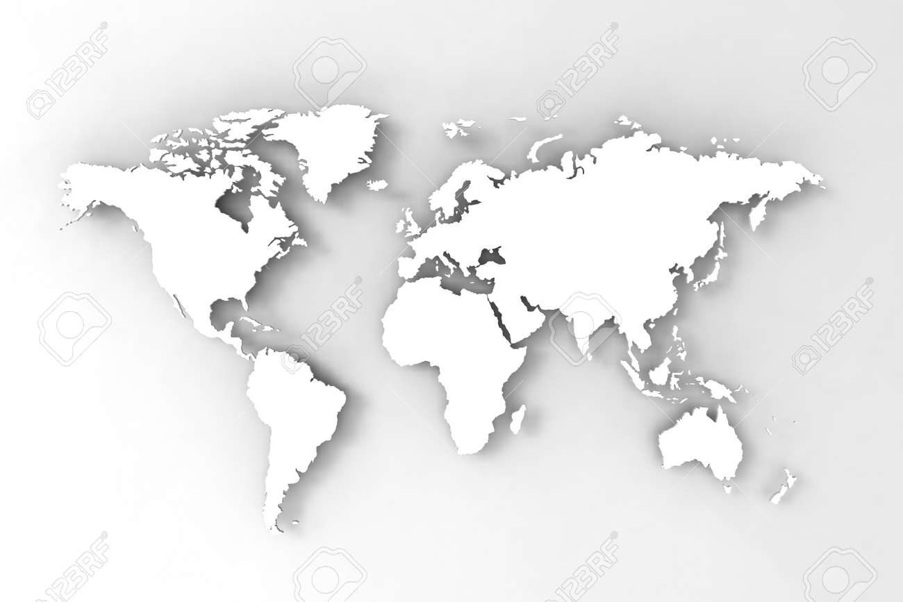 World map 3d render stock photo picture and royalty free image stock photo world map 3d render gumiabroncs Images