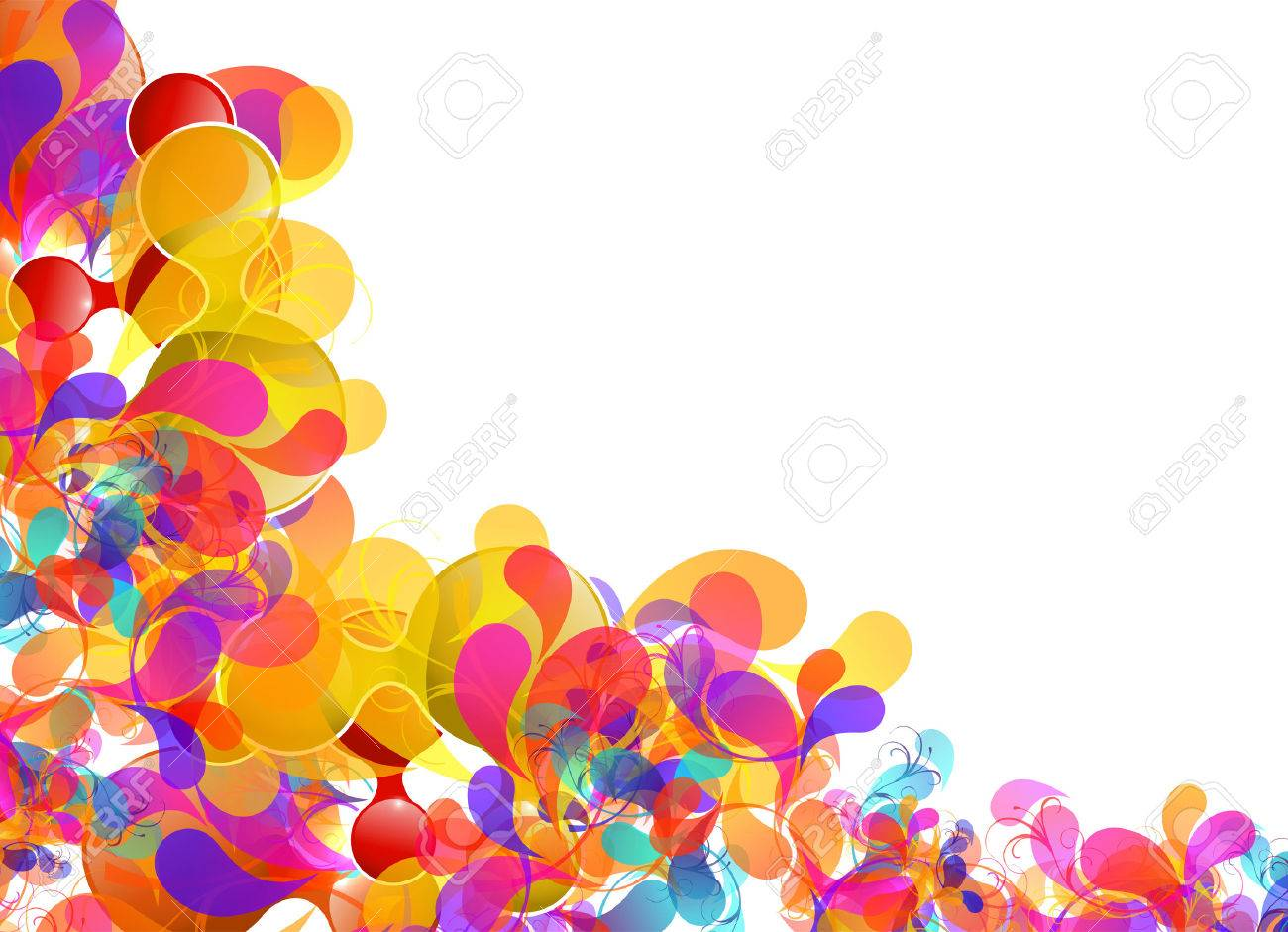 Abstract colorful design, easy editable Stock Vector - 23180037
